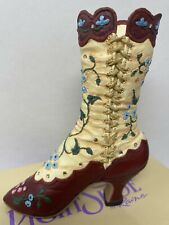 Opera Boot miniature collectible Just the Right Shoe by Raine #25005 W Box , Coa