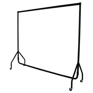HEAVY DUTY 3ft,4ft,5ft,6ft GARMENT RAIL CLOTHES HOME HANGING RACK MARKET DISPLAY