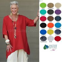 WATERSISTER Cotton Gauze SANDY Tunic Long Top 1(M/L) 2(XL) 3(1X/2X) 2019 COLORS