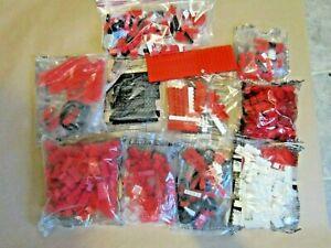 Mega Bloks ~ Blocks ~ 2+lbs ~ Bulk Building Pieces ~ Mixed Lot ~ 10 BAGS!!
