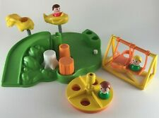 Fisher-Price Little People Playground #2525 swing merry-go-round