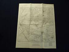 Landkarte Meßtischblatt 3655 Reppen i.d. Neumark / Rzepin, Weststernberg, 1945