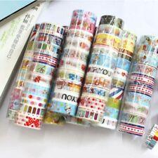 10 x 3M Washi Tape Set Masking Tape Scrapbook Decorative Paper Adhesive StickerP