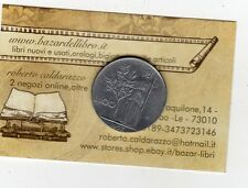 repubblica moneta 100 lire 1957 acmonital diametro 27,8 mm.