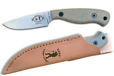 ESEE JG3 Camp-Lore James Gibson Knife Bushcraft Fixed Blade With Leather JG3 NEW