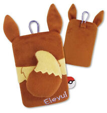 NEW Gourmandise Pokemon Go X & Y Smart Phone Hipappo Carrying Pouch Eevee