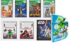 DK Level 2 Star Wars Readers Ultmate Box Set 4 Readers, 2 Sticker Books & Poster