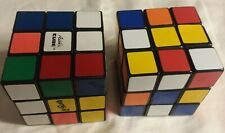 2 Original 1980 Rubik's Cube by Ideal Vintage Toy Puzzle