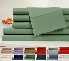 100% Organic Cotton King Size Sheet Set (6pc Set - 200TC),100% Certified Organic