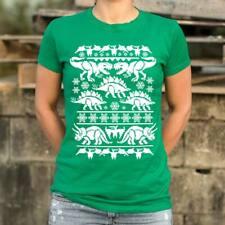 Ugly Dinosaur Sweater T-Shirt (Ladies)