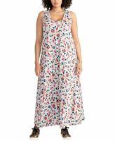 RACHEL ROY NEW Women's Plus Size Gabi Floral Tank Maxi Dress TEDO