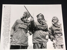Wire Press Photo 1953 SIR EDMUND HILLARY,TENZING NORGAY,John Hunt on Mt  EVEREST