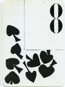 REPRODUCTION // THE DECK OF POSTCARDS // SANDRA BLOW // EIGHT OF SPADES