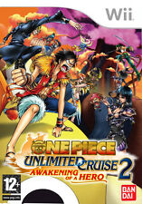 Wii -- One Piece - Unlimited Cruise 2 - Awakening of a Hero -- NUOVO