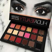 HUDA Beauty Rose Gold Edition Textured Eye Shadow Palette 18 Colours Gift