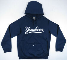 New York Yankees Nike Fit Therma MLB Hooded Pullover Sweatshirt Mens Jacket L