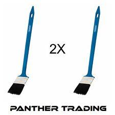 2X Draper Lunga Portata Maniglia Spazzola per radiatori emulsione/pittura lucida 50 mm - 82556