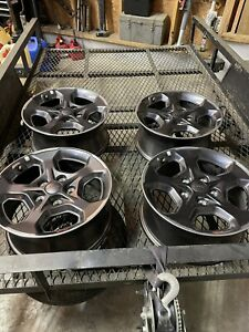 """2021 Jeep Gladiator Rubicon Wheels (4). Will Fit Wrangler 2007 And Up. 17"""" 5x5"""