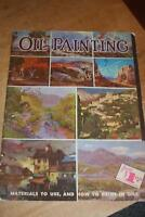 Vintage Walter Foster Art Book Oil Painting #4 How To Paint In Oils