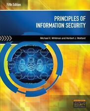 Principles of Information Security, Michael E. Whitman & Herbert J. Mattord, 4th