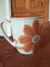 More details for denby - modern - retro style - flower mug  - v.g.c free uk p&p