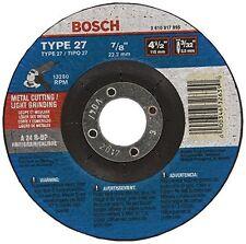 Bosch Accessories Cg27M450 4.5X3/32-Inch Cutting Type 27 1/8-Inch by 7/8-Inch Gr