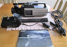 VINTAGE, RCA SELECTA VISION CC017 COLOR VIDEO CAMERA, W/ MANUAL. (FLO)
