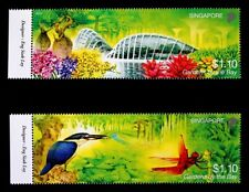 Singapore Stamp 2012 Gardens By The Bay, Nature, Flowers, Butterfly 滨海湾公园