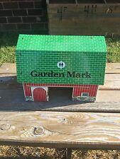VTG ANTIQUE Garden Mark Tin METAL Toy Barn Silo Farm Barnyard Playset DOLL HOUSE