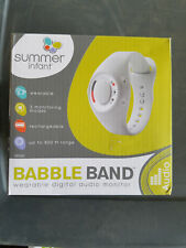 Summer Infant Babble Band Wearable Digital Audio Baby Monitor Range up to 800 Ft