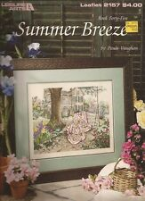 SUMMER BREEZE.. CROSS STITCH.. Paula Vaughan Book 45