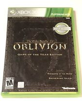 The Elder Scrolls IV: Oblivion Game of the Year Edition (Xbox 360) COMPLETE!