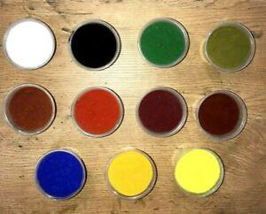 Farbpigmente Farbpulver Eisenoxide Farbstoff Pigmentpulver Oxidpigmente Pigmente