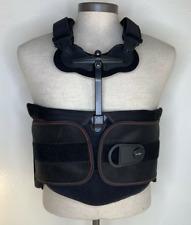 DonJoy Thoracic Back Brace II TLSO Adult Large Rehab black Laces adjustable
