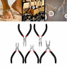 5pcs Jewelers Pliers Set Jewelry Making Beading Wire Cutter Repair Pliers Tools