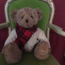 bzw Weihnachtsbär 2001 Jahres HARRODS Teddybär