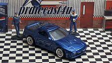 "HOT WHEELS 1989 MAZDA SAVANNA RX-7 FC3S LOOSE CUSTOM ""BLUE"" COLLECTION SERIES"