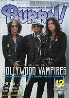 USED BURRN Dec 2018 Heavy Metal Magazine Japan HOLLYWOOD VAMPIRES Johnny Depp