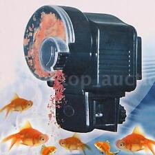 Digital LCD Automatic Feeding Aquarium Tank Electronic Fish Food Feeder Timer US