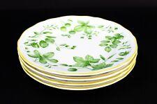 "Villeroy & Boch Parkland Green 8"" Salad Plates House Garden Set Of 4"