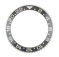 Authentic Rolex GMT 116710LN Black 40.30mm Ceramic with S/S Bezel