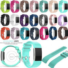 FOR Fitbit CHARGE 2 Replacement Silicone Rubber Band Strap Wristband Bracelet