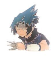 TV Animation Naruto Sasuke Metal Pin Badge