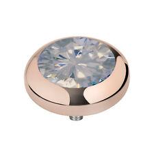 Melano Vivid Meddy ´S M 01sr9012 Rg Moonstone 7 Mm Rosé Inset for Vivid Ring