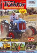 Oldtimer Traktor 4/13 Fordson Dexta/Kirowez K 701/HSCS Firmenstory/Agria 2800 D/