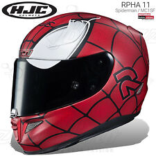 CASCO INTEGRALE HJC RPHA 11 LIMITED EDITION SPIDERMAN MC1SF MARVEL MOTO PINLOCK