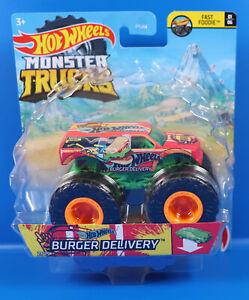 Mattel Hot Wheels  Monster Trucks GTH77 Burger Delivery