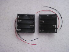 18650 Battery Holder: 4 Batteries Holder For Rechargeable x 1
