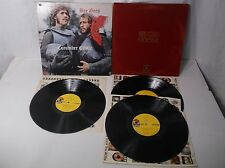 lot of 2 Bee Gees Vinyl LP Record Albums - Odessa & Cucumber Castle VG+ 1969 W@W