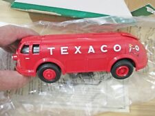Texaco Gas 1934 Doodle Bug Diamond T Tanker truck diecast coin bank Mint in Box